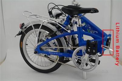 сгъваем велосипед